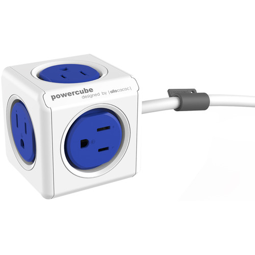 allocacoc PowerCube Extended (5', Blue)