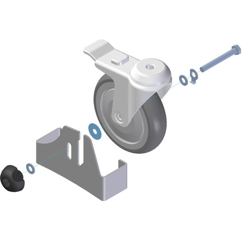 Alphatron Cable Mover Set for Pedestal Camera Platform