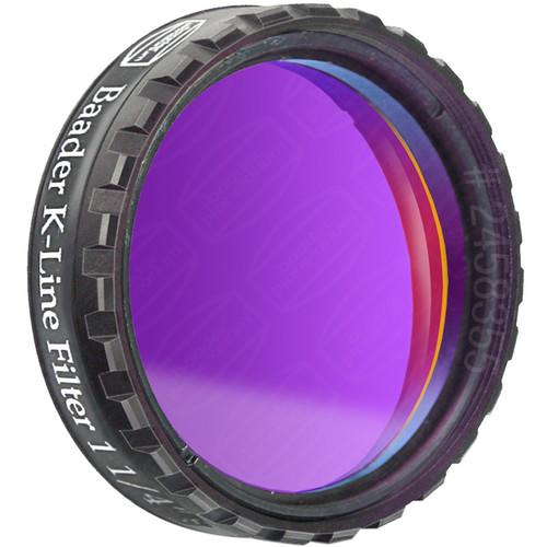 "Alpine Astronomical Baader Planetarium Double-Stacked Ca-K Solar Imaging Filter (1.25"")"