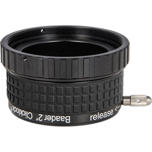 """Alpine Astronomical Baader 2"""" ClickLock Eyepiece Clamp for ES/Bresser/Omegon Hexafocusers with Internal M68x0.75 Threads"""