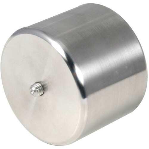 """Alpine Astronomical 2.2lb Stainless Steel Leveling Counterweight (1.25"""" M/F Thread)"""