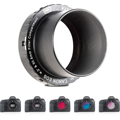 Alpine Astronomical Baader Canon EOS Wide T-Ring System with Deep-Sky H-alpha Filter