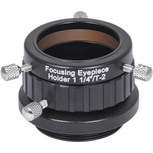 """Alpine Astronomical Baader 36.4mm Male Thread to 1.25"""" Eyepiece Holder"""