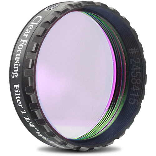 "Alpine Astronomical Baader Clear Focusing Filter (1.25"" Eyepiece Filter)"