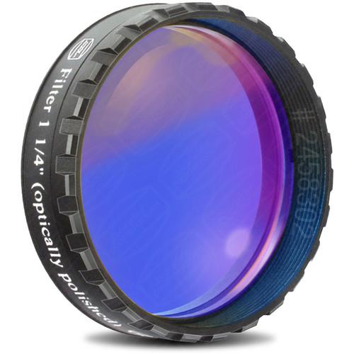 "Alpine Astronomical Baader Dark Blue Colored Bandpass Eyepiece Filter (1.25"")"