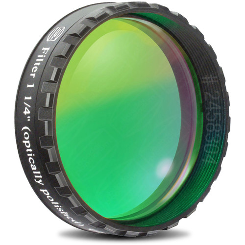 "Alpine Astronomical Baader Green Colored Bandpass Eyepiece Filter (1.25"")"