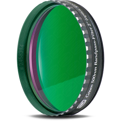 "Alpine Astronomical Baader Green Colored Bandpass Eyepiece Filter (2"")"