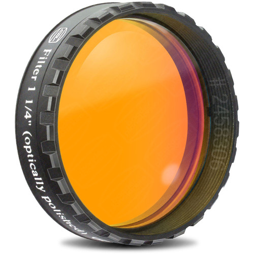 "Alpine Astronomical Baader Orange Colored Bandpass Eyepiece Filter (1.25"")"