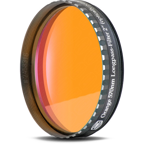 "Alpine Astronomical Baader Orange Colored Bandpass Eyepiece Filter (2"")"