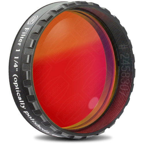 """Alpine Astronomical Baader Red Colored Bandpass Eyepiece Filter (1.25"""")"""