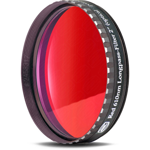 """Alpine Astronomical Baader Red Colored Bandpass Eyepiece Filter (2"""")"""