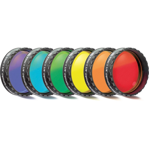"Alpine Astronomical Baader Colored Bandpass Eyepiece Filter Set (1.25"")"