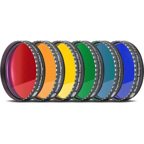 "Alpine Astronomical Baader Colored Bandpass Eyepiece Filter Set (2"")"