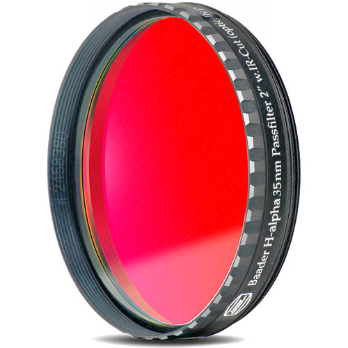 "Alpine Astronomical Baader H-Alpha 35nm MidBand CCD Imaging Filter (2"" Eyepiece Filter)"