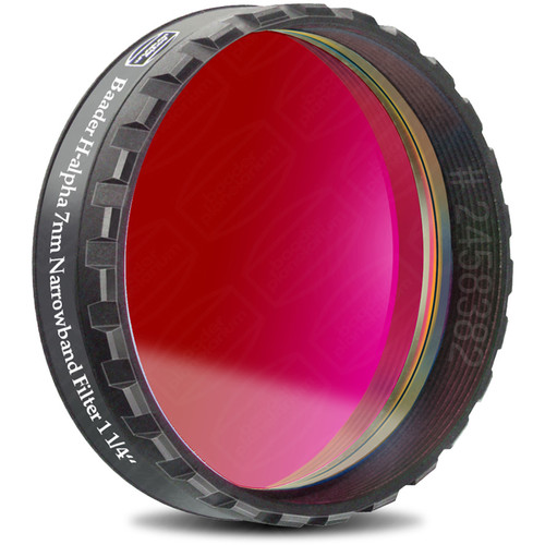 "Alpine Astronomical Baader 7nm H-alpha Enforced-Narrowband CCD Imaging Filter (1.25"" Eyepiece Filter)"