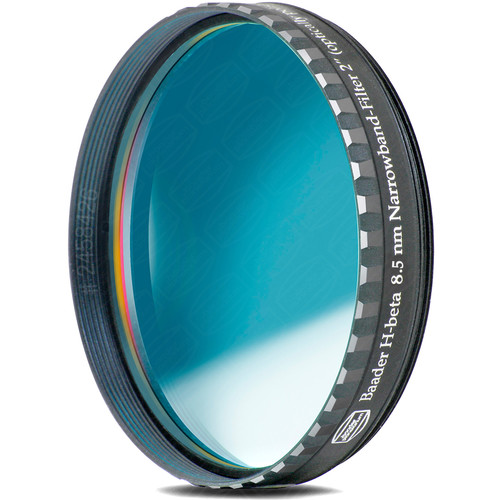 "ALPINE ASTRONOMICAL Baader H-Beta 8.5nm Narrowband CCD Filter (2"")"
