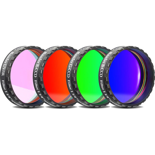 "Alpine Astronomical Baader L-RGB CCD Imaging Filter Set (1.25"" Eyepiece Filter)"