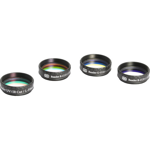 Alpine Astronomical Baader L-RGB CCD Imaging Filter Set (31mm Round, Unmounted)