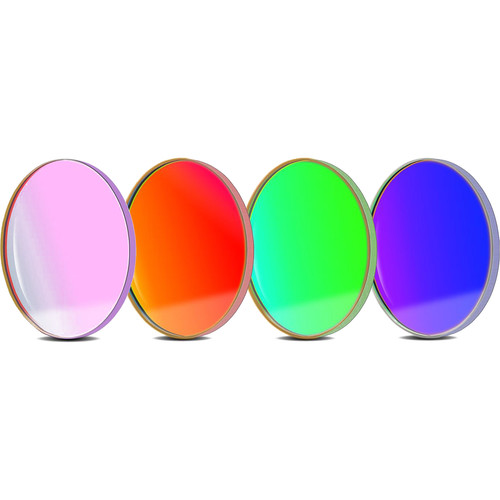 Alpine Astronomical Baader L-RGB CCD Imaging Filter Set (36mm Round, Unmounted)