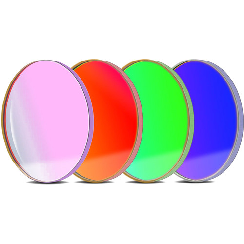 ALPINE ASTRONOMICAL Baader L-RGB CCD Imaging Filter Set (50.4mm Round, Unmounted)