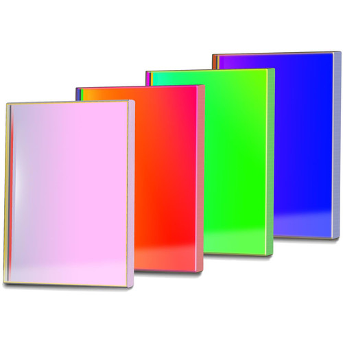 Alpine Astronomical Baader L-RGB CCD Imaging Filter Set (50x50mm Square, Unmounted)