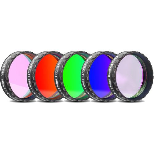 "Alpine Astronomical Baader L-RGB-C CCD Imaging Filter Set (1.25"" Eyepiece Filter)"
