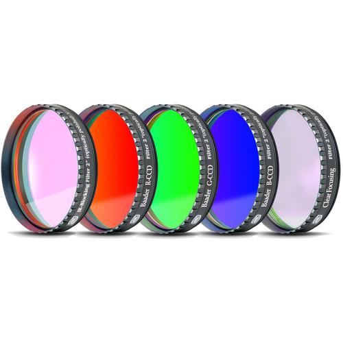"Alpine Astronomical Baader L-RGB-C CCD Imaging Filter Set (2"" Eyepiece Filter)"