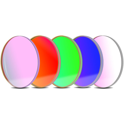 Alpine Astronomical Baader L-RGB-C CCD Imaging Filter Set (50.4mm Round)