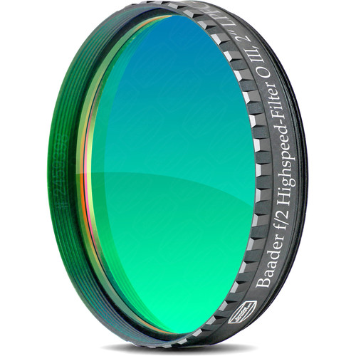 "Alpine Astronomical Baader f/2 Highspeed Oxygen-III Nebula Filter (2"")"