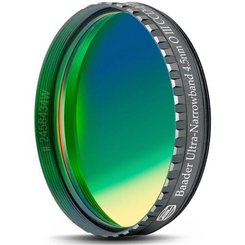 "Alpine Astronomical Baader Oxygen-III 4.5nm Ultra Narrowband CCD Filter (2"" Eyepiece Filter)"