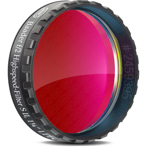 """Alpine Astronomical Baader f/2 S-II High Speed Narrowband CCD Filter (1.25"""")"""