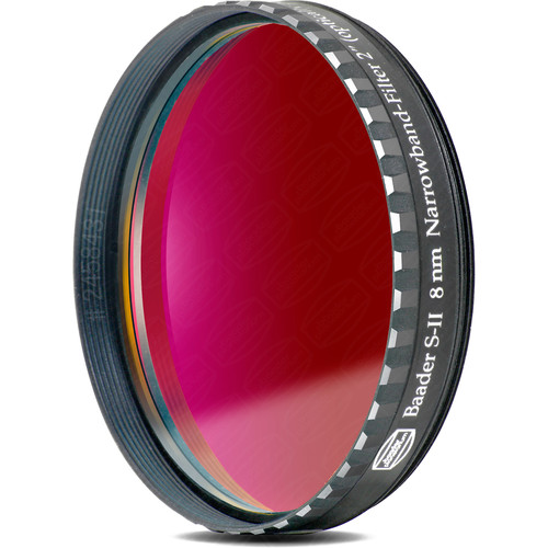 "Alpine Astronomical Baader 8nm Sulfur-II Narrowband CCD Filter (2"" Eyepiece Filter)"