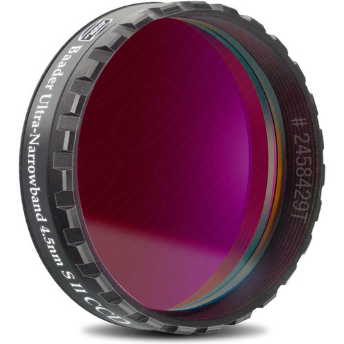 """Alpine Astronomical Baader 4.5nm Sulfur-II Ultra-Narrowband CCD Filter (1.25"""" Eyepiece Filter)"""