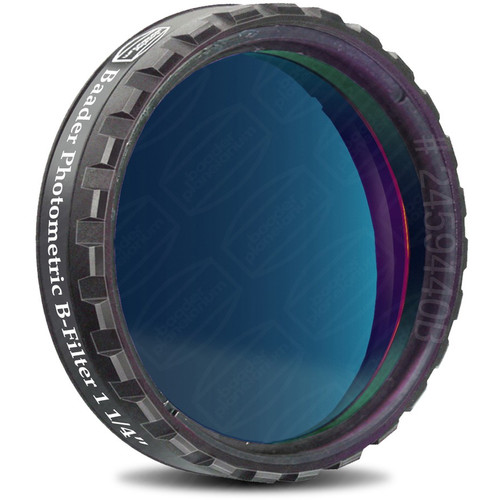 """Alpine Astronomical Baader Blue CCD Photometric Imaging B-Filter (1.25"""")"""