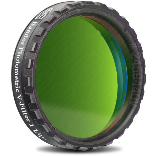 """Alpine Astronomical Baader Green CCD Photometric Imaging V-Filter (1.25"""")"""