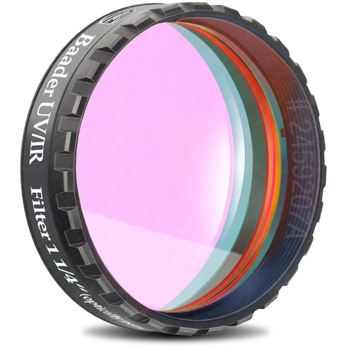 "Alpine Astronomical Baader UV/IR Cut / Luminance Filter (1.25"" Eyepiece Thread)"
