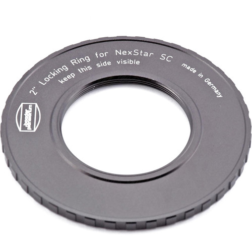 "Alpine Astronomical 2"" Locking Ring for Schmidt-Cassegrain Telescopes (Black)"