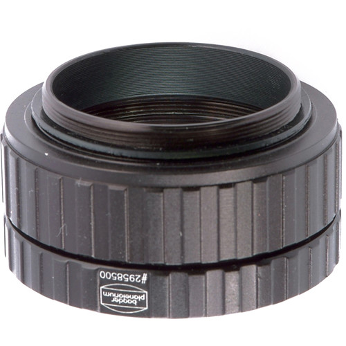 """Alpine Astronomical Baader 2"""" NX4/C90/ETX Photo Adapter with 1.25"""" Filter Holder (Matte Black)"""