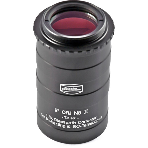 """Alpine Astronomical Baader 1.8x Glasspath Corrector for Refractors and SCTs (2"""")"""