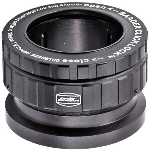 "Alpine Astronomical Baader 1.25""/T-2 Click-Lock Eyepiece Holder Adapter"