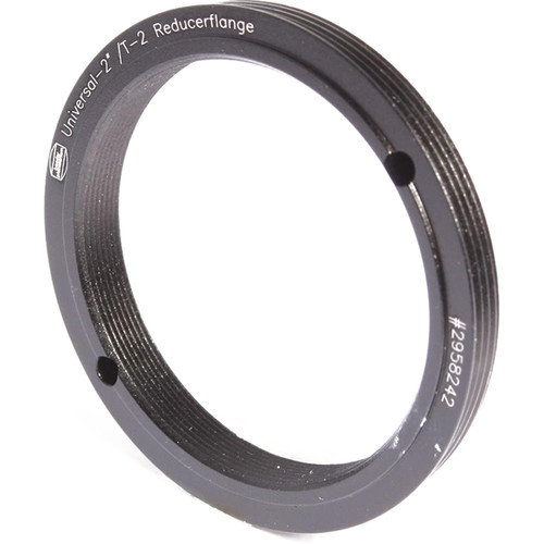 """Alpine Astronomical Baader 2"""" Male to T-2 Female Reducer Ring"""