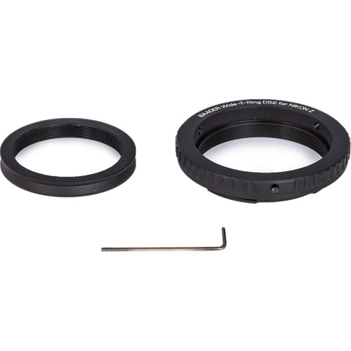 Alpine Astronomical Baader Wide T-Ring Set for Nikon Z