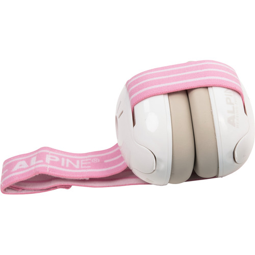Alpine Hearing Protection Muffy Baby Protective Headphones (Pink)