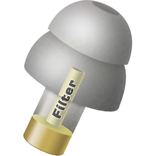 Alpine Hearing Protection MusicSafe Pro Multi-Attenuator Molded Earplug Kit (Silver/Gray)