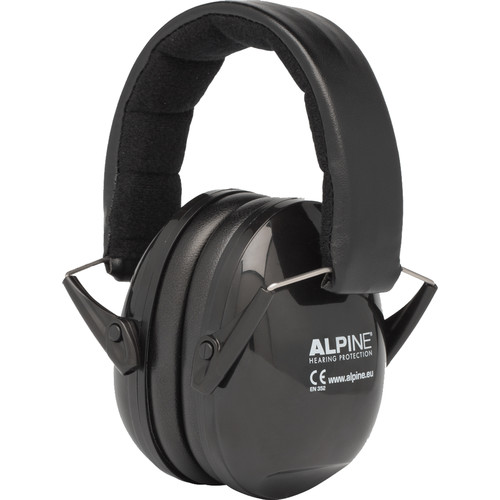 Alpine Hearing Protection Muffy Music Earmuffs for Musicians (Black)