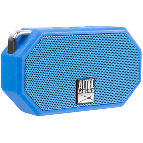Altec Lansing Mini H2O 2 Bluetooth Wireless Speaker (Blue)
