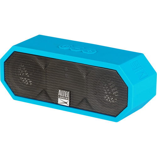 Altec Lansing Jacket H2O 3 Bluetooth Wireless Speaker (Aqua Blue)