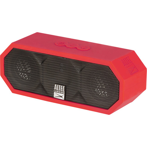 Altec Lansing Jacket H2O 3 Bluetooth Wireless Speaker (Deep Red)