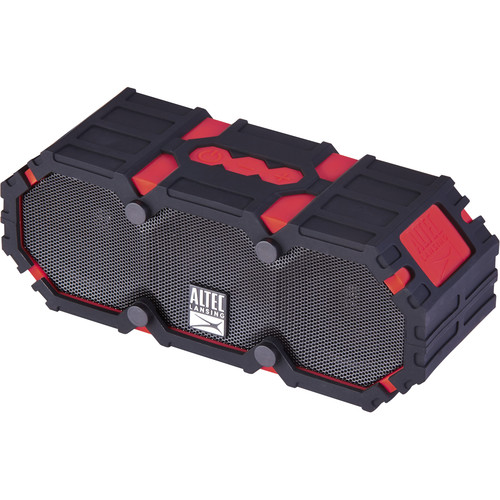 Altec Lansing Mini LifeJacket 3S Bluetooth Wireless Speaker (Deep Red)