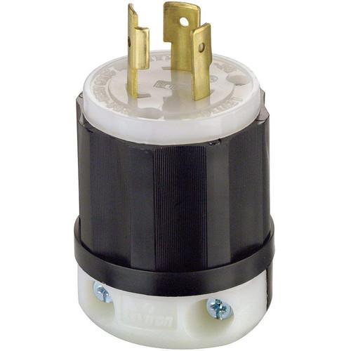 Altman Grounding Locking Blade Twist-Lock NEMLA L5-20P Connector (20A, Male)